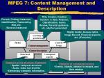 mpeg 7 content management and description