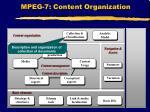 mpeg 7 content organization