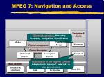 mpeg 7 navigation and access