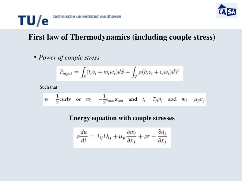 Power of couple stress