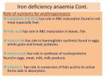 iron deficiency anaemia cont15