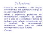 cv funcional
