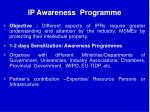 ip awareness programme