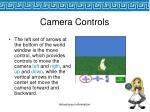 camera controls50