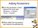 adding parameters48