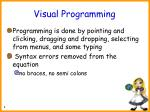visual programming
