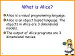 what is alice