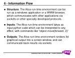 6 information flow