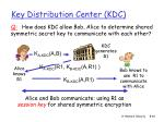 key distribution center kdc46