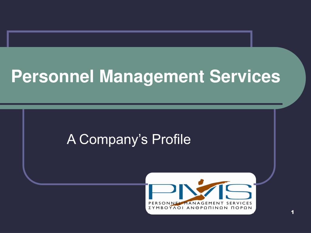 personnel management services l.