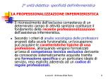 2 unit didattica specificit dell infermieristica8