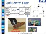 actis activity sensor