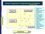 amoco s appraisal of organizational capabilities