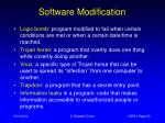 software modification