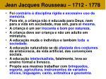 jean jacques rousseau 1712 177827