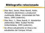 bibliograf a relacionada