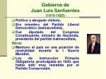 gobierno de juan luis sanfuentes 1915 1920