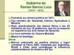 gobierno de ram n barros luco 1910 1915