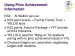 using prior achievement information17