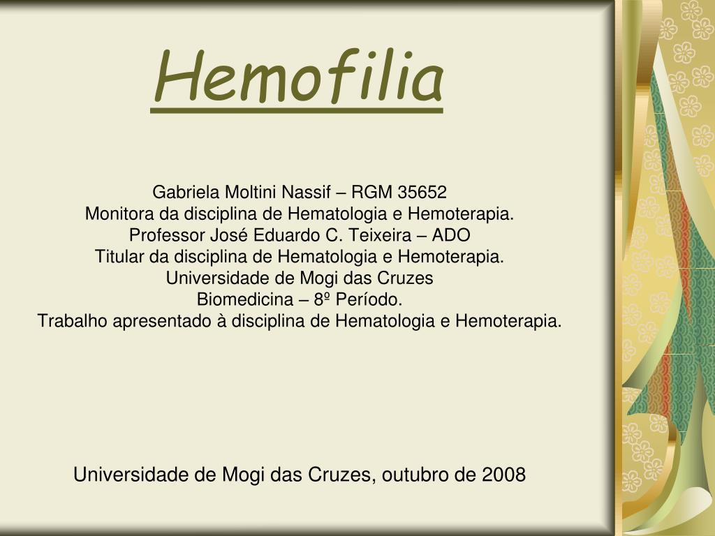 hemofilia l.