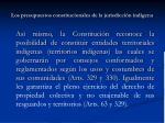 los presupuestos constitucionales de la jurisdicci n ind gena5