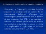 los presupuestos constitucionales de la jurisdicci n ind gena6