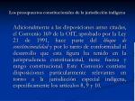 los presupuestos constitucionales de la jurisdicci n ind gena7