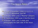 the space race9