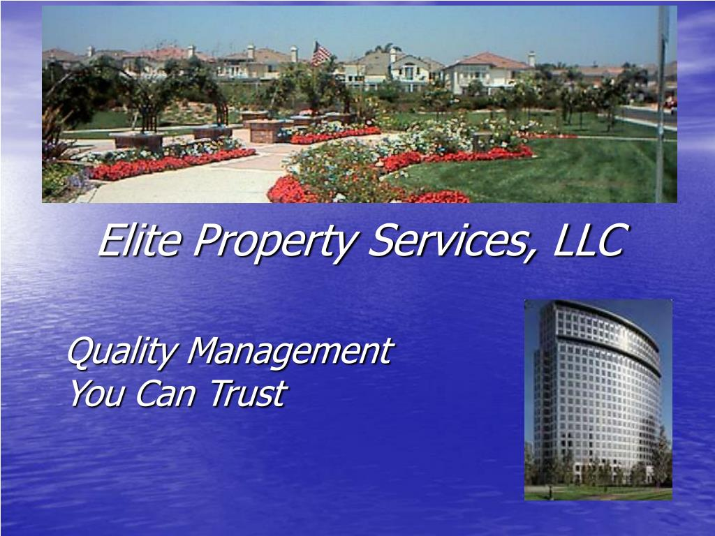 quality management you can trust l.