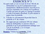 exercice n 3