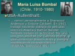 mar a luisa bombal chile 1910 198010