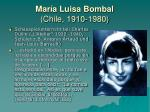 mar a luisa bombal chile 1910 19805
