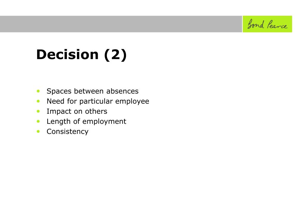Decision (2)