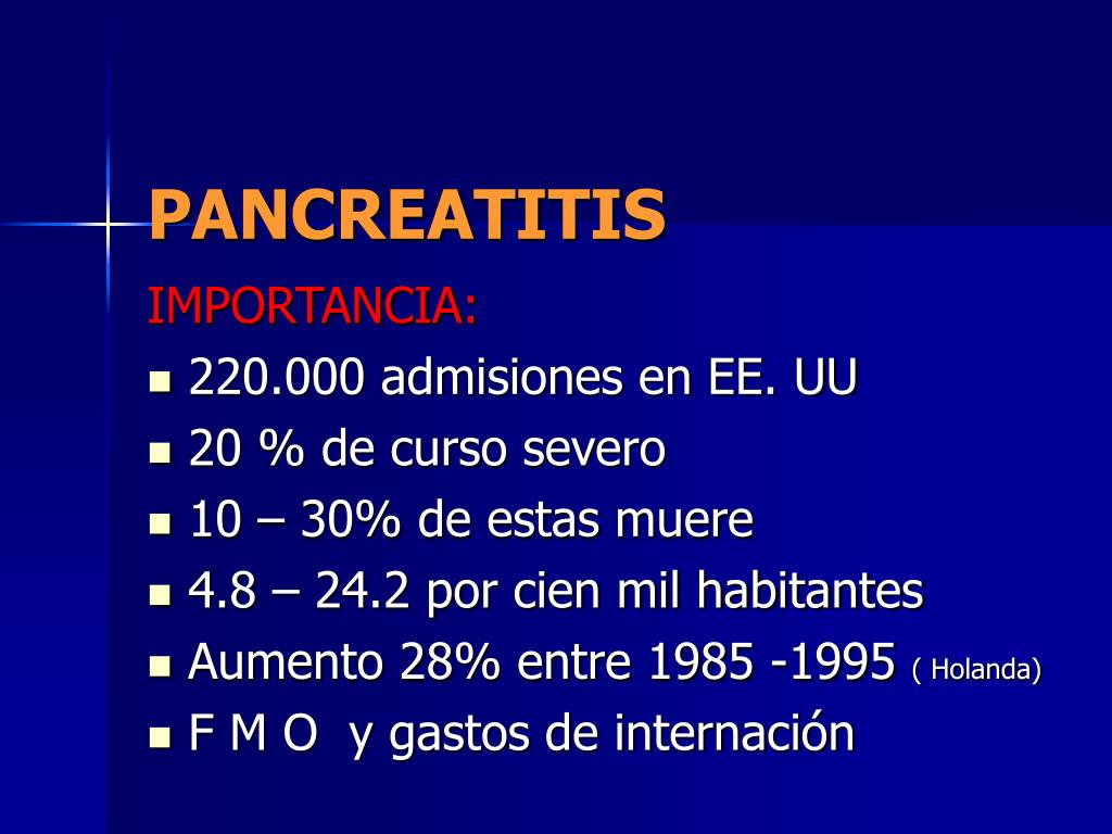 pancreatitis l.
