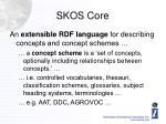 skos core