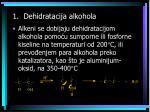 1 dehidratacija alkohola