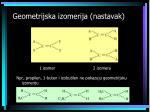 geometrijska izomerija nastavak13