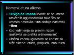 nomenklatura alkena