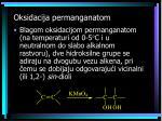 oksidacija permanganatom