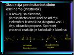 oksidacija peroksikarboksilnim kiselinama nastavak