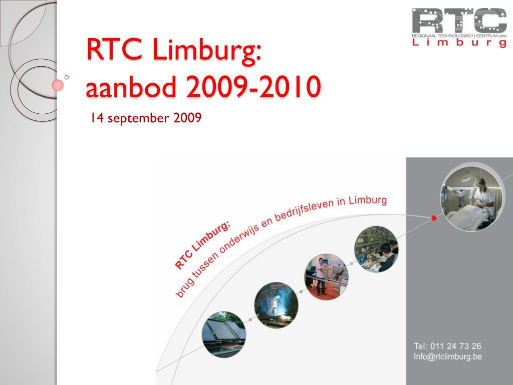 rtc limburg aanbod 2009 2010 l.