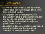 2 esterifikacija