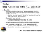 tactic blog deep fried at the n c state fair11