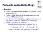protocolo de medici n arg18