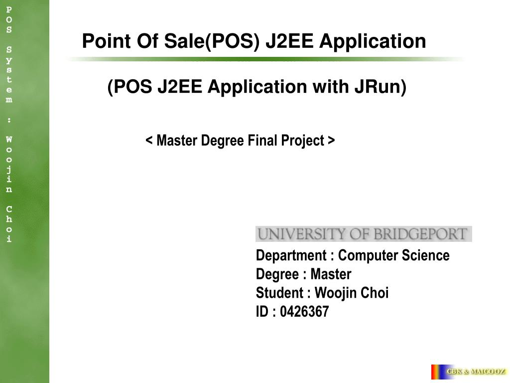 point of sale pos j2ee application l.