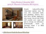 patio homes columbia mo 4005 s phoenix columbia mo 65202