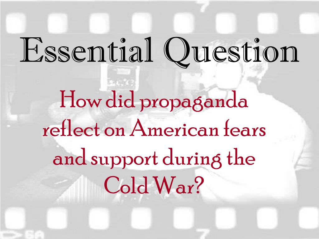 "what were americas fears during the cold war? essay The rise of nuclear fear-how we learned to and long lasting the effects of those cold war fears have the microphones were off"" my fellow americans."