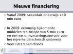 nieuwe financiering10