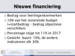 nieuwe financiering14