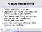 nieuwe financiering32